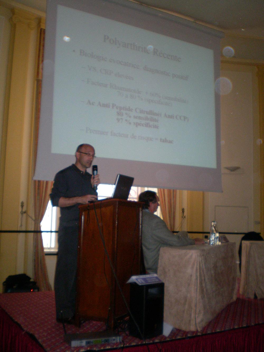 Dr Olivier Brocq, Hôpital Pricesse Grâce à Monaco, spécialiste de la Spondylarthrite sur la Côte d'Azur