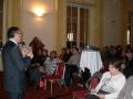 Professeur Daniel Benchimol, doyen de la faculté de médecine de Nice devant notre public