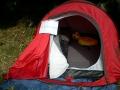 """La tente """"présidentielle"""" d'ACS, dans le camp d'Alain Grassi"""