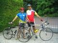 Alain à vélo