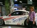 La voiture de compétition de Lionel Comole