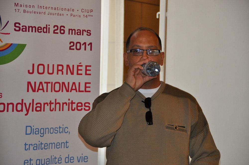 Reda Kachroud, rhumatologue à Alger et Grand chef d'ACS - Algérie