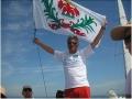 Le drapeau niçois dans le ciel Breton