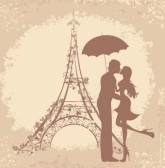 26068227-lune-de-miel-et-voyage-romantique-heureux-jeunes-amoureux-couple-s-embrassant-devant-la-tour-eiffel-
