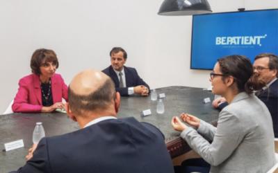 Marisol TOURAINE, ministre de la santé, parle de SPONDY+