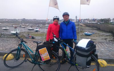 Corinne, de Roscoff à Hendaye à vélo !